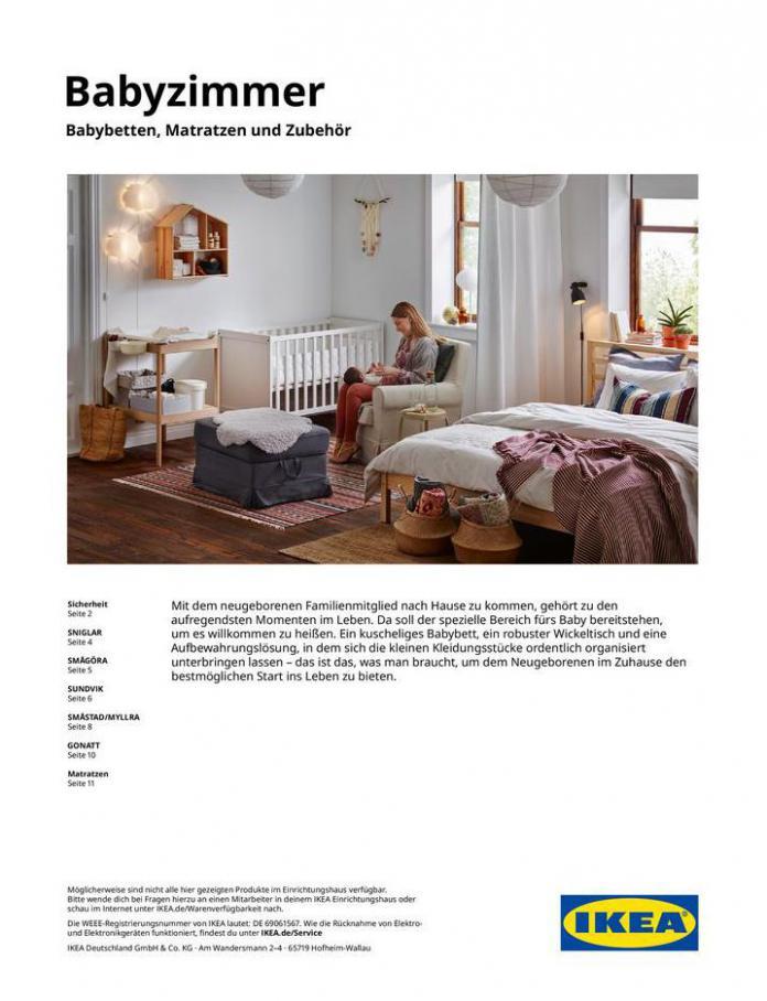 Babyzimmer Kaufhilfe 2021  . IKEA (2021-07-31-2021-07-31)