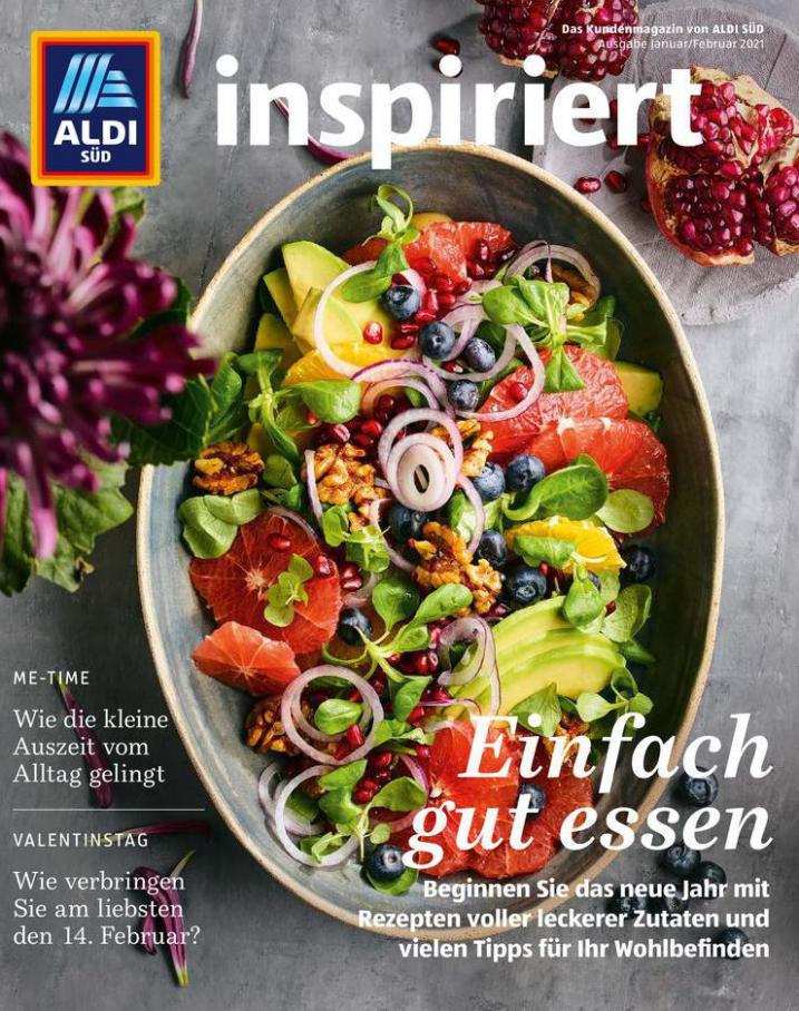 Aldi Süd flugblatt . Aldi Süd (2021-03-31-2021-03-31)