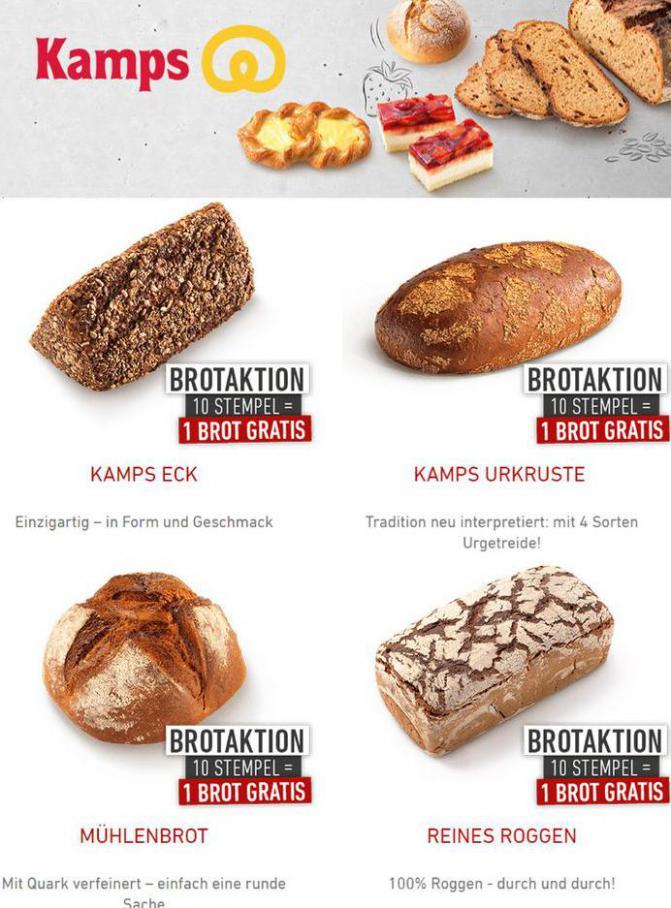 Angebote . Bäckerei Kamps (2021-03-29-2021-03-29)