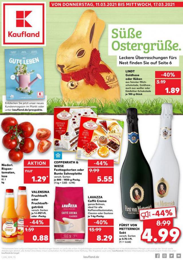 Angebote Kaufland . Kaufland (2021-03-17-2021-03-17)