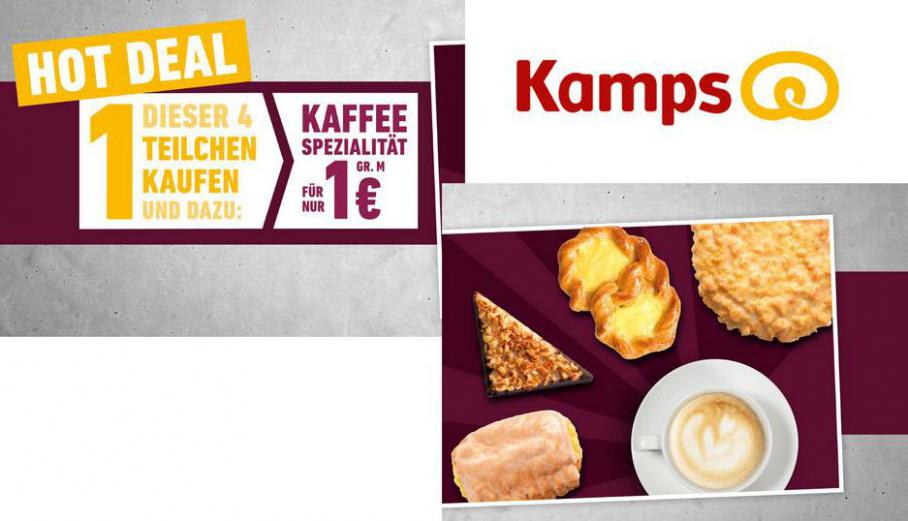 Hot Deal . Bäckerei Kamps (2021-03-18-2021-03-18)