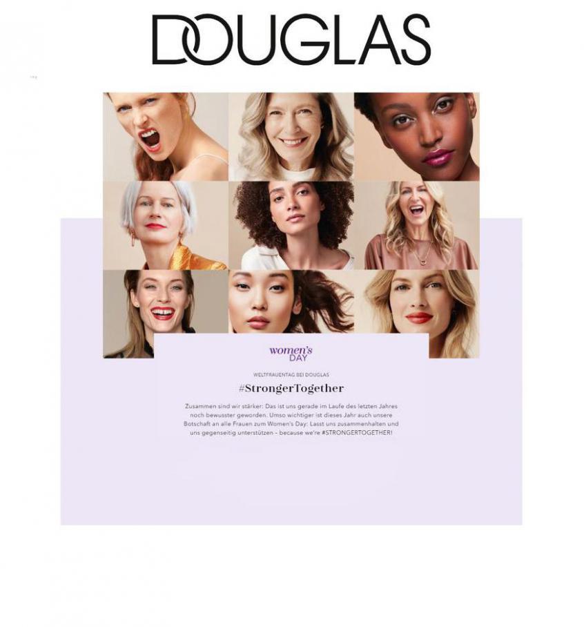 Weltfrauentag Angebote . Douglas (2021-03-08-2021-03-08)