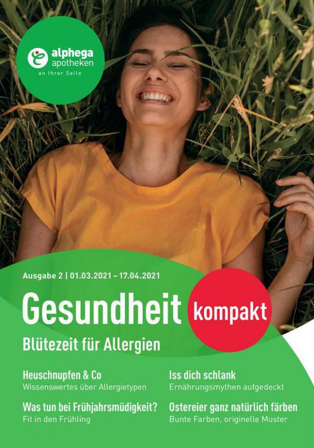 Alphega Gesundheitkompakt 2021 . Alphega Apotheken (2021-04-14-2021-04-14)