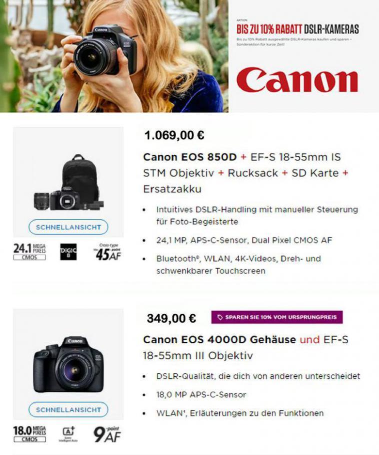 Angebote Prospekt  . Canon (2021-03-21-2021-03-21)