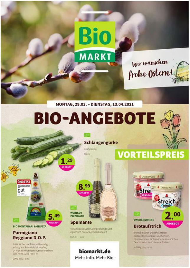 Angebote . BioMarkt (2021-04-13-2021-04-13)