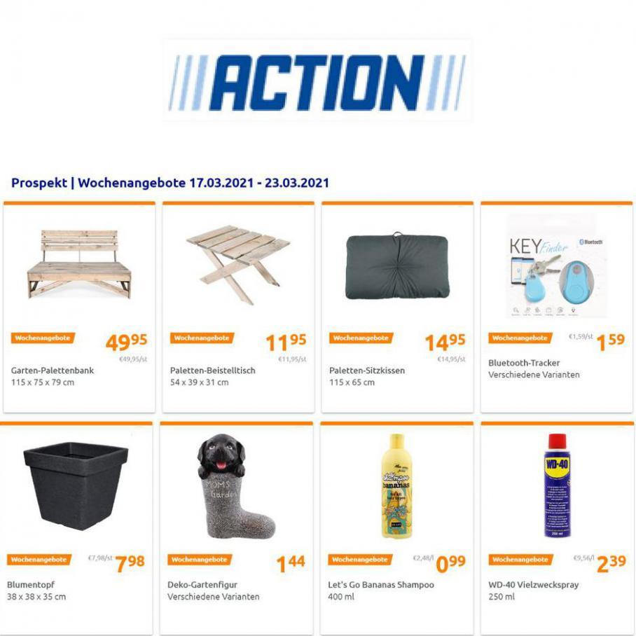 Wochenangebote . Action (2021-03-23-2021-03-23)