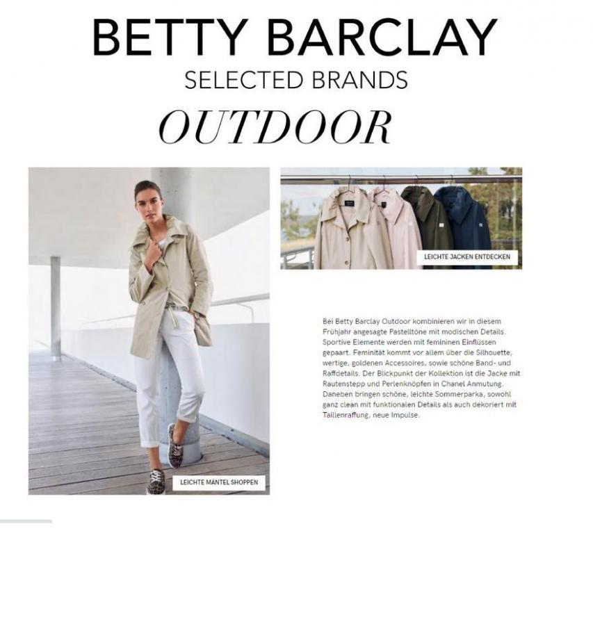 Outdoor Sale . Betty Barclay (2021-03-15-2021-03-15)