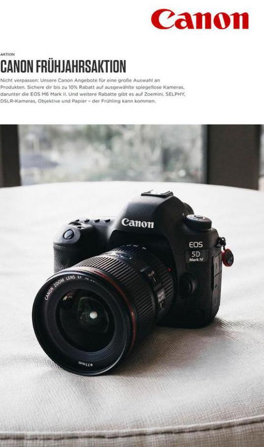 ALLE ANGEBOTE ENTDECKEN . Canon (2021-04-13-2021-04-13)