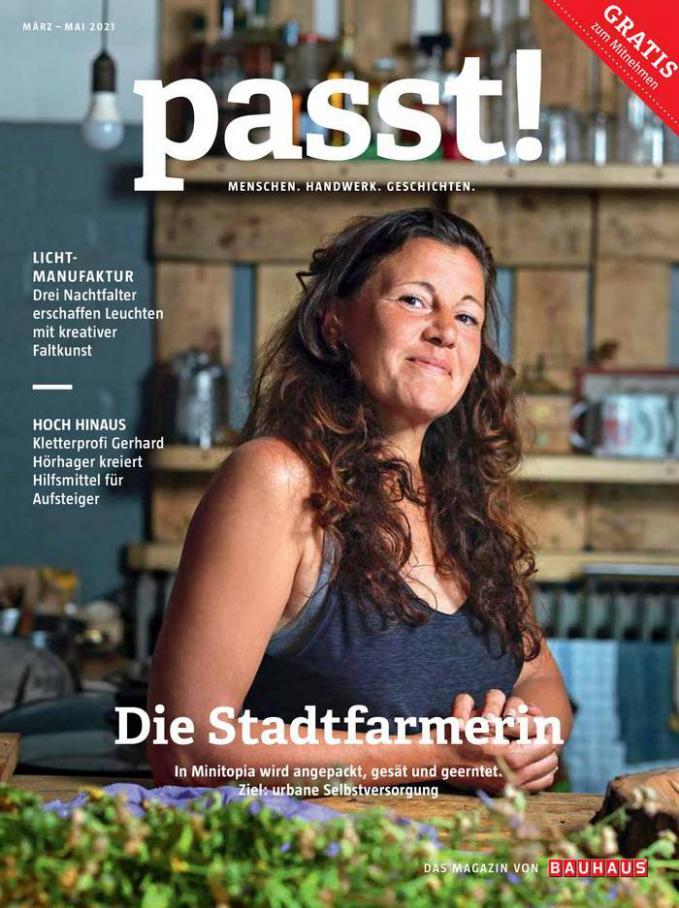 Das Magazin von BAUHAUS . Bauhaus (2021-05-31-2021-05-31)
