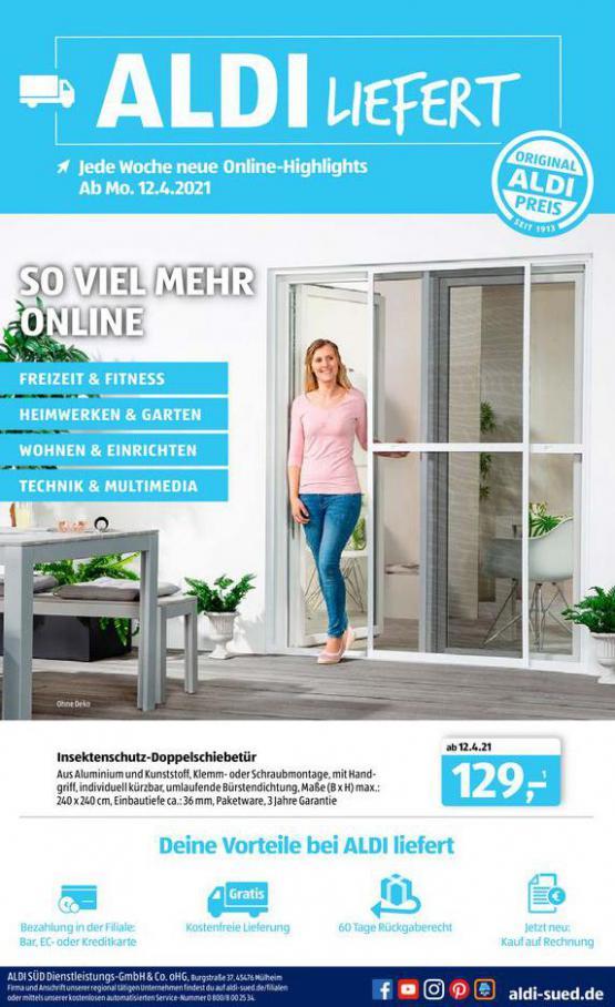Aldi Süd flugblatt . Aldi Süd (2021-04-26-2021-04-26)