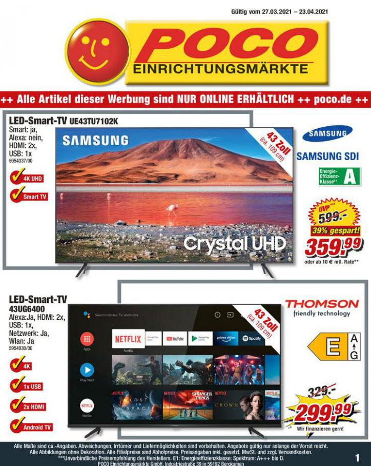 TV Angebote . Poco (2021-04-23-2021-04-23)