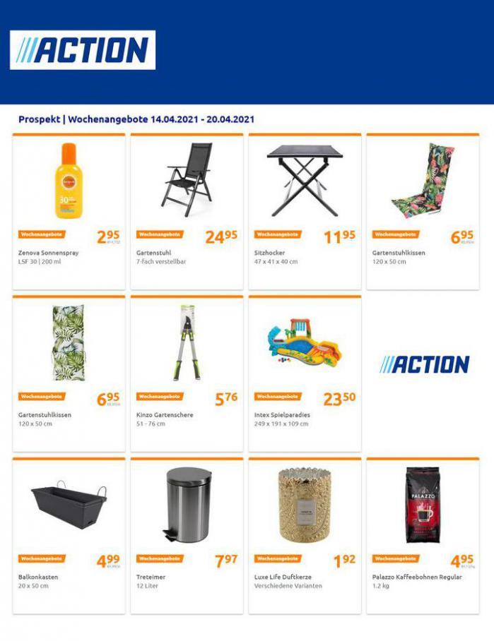 Wochenangebote  . Action (2021-04-20-2021-04-20)