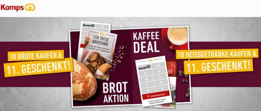 Hot deal . Bäckerei Kamps (2021-04-05-2021-04-05)