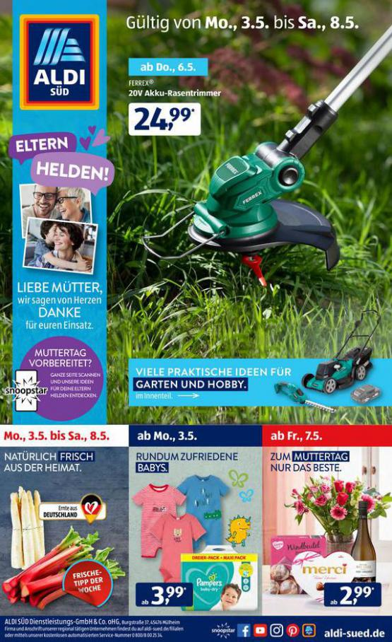 Aldi Süd flugblatt . Aldi Süd (2021-05-08-2021-05-08)