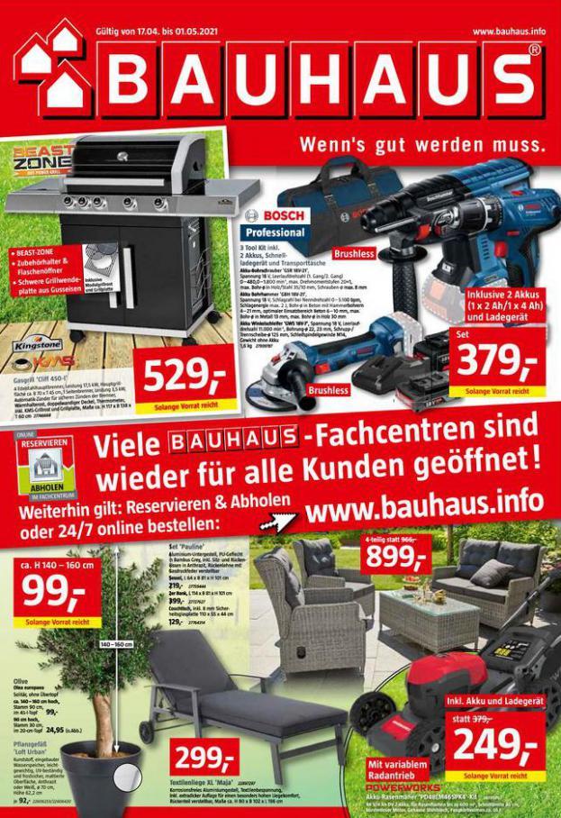 Prospekt April . Bauhaus (2021-05-01-2021-05-01)