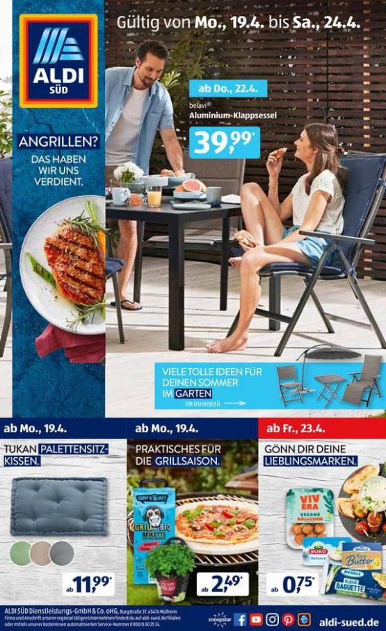 Aldi Süd flugblatt . Aldi Süd (2021-04-24-2021-04-24)