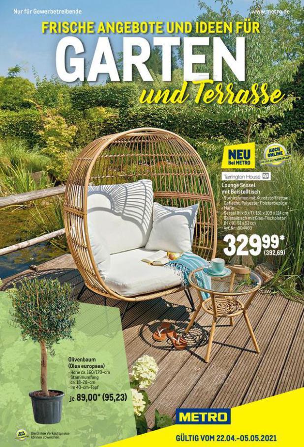Garten und Terrasse . Metro (2021-05-05-2021-05-05)