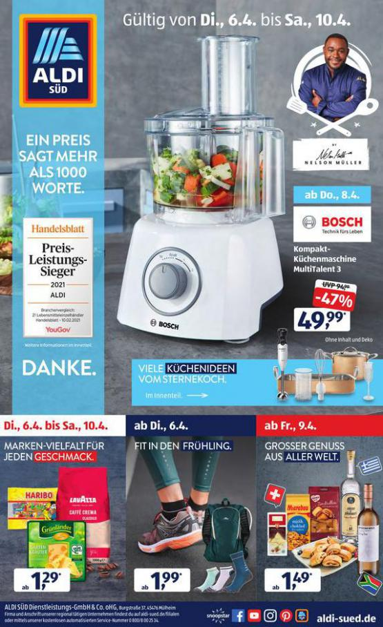 Aldi Süd flugblatt . Aldi Süd (2021-04-10-2021-04-10)