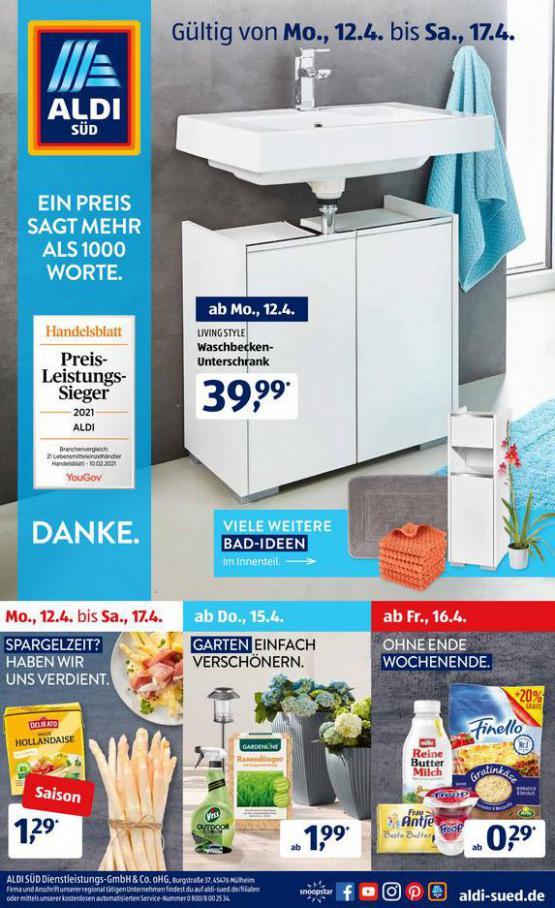 Aldi Süd flugblatt . Aldi Süd (2021-04-17-2021-04-17)