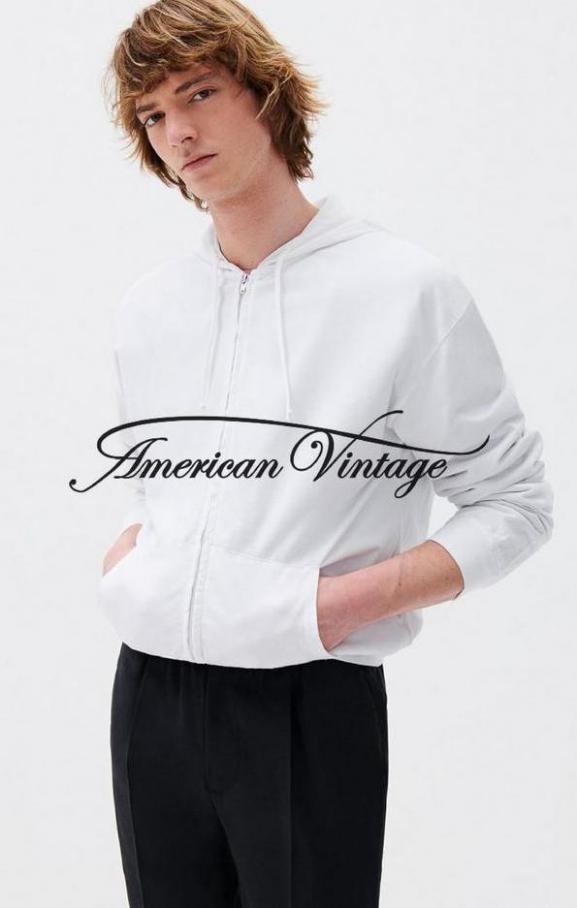 American Vintage Neuheiten Herren Lookbook . American Vintage (2021-06-12-2021-06-12)