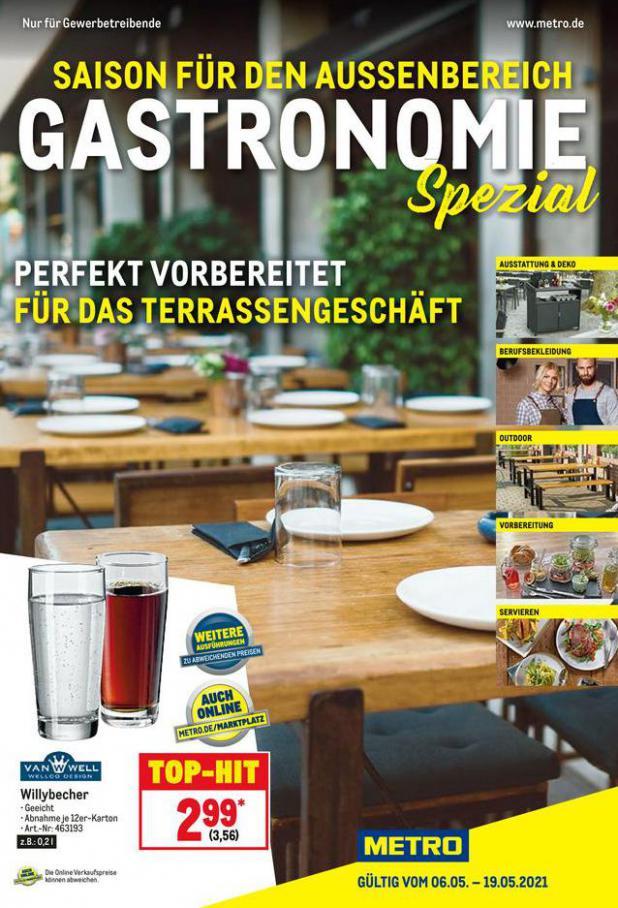 Gastronomie Spezial . Metro (2021-05-19-2021-05-19)