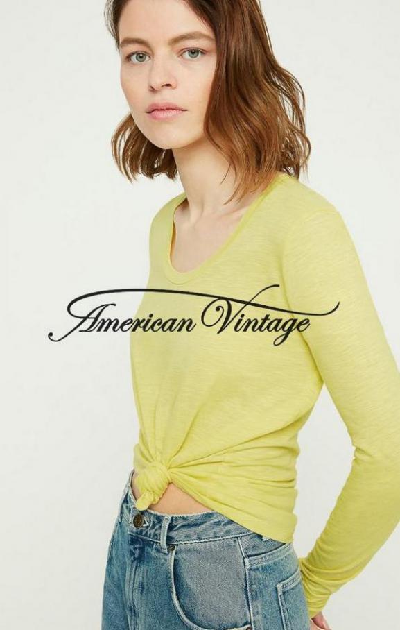 American Vintage Neuheiten Damen Lookbook . American Vintage (2021-06-12-2021-06-12)