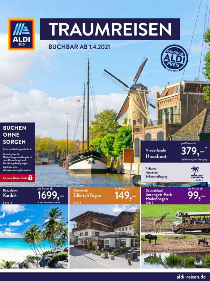Aldi Süd flugblatt . Aldi Süd (2021-04-30-2021-04-30)