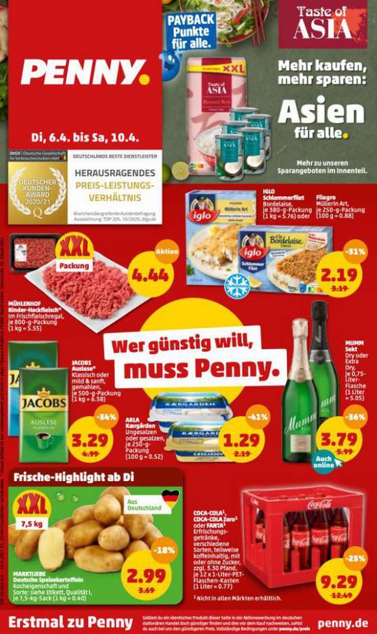 Penny flugblatt . Penny (2021-04-08-2021-04-08)