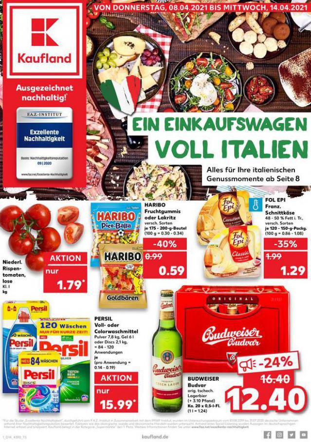 Angebote Kaufland . Kaufland (2021-04-14-2021-04-14)