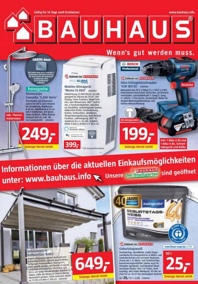 Prospekt Mai 2021 . Bauhaus (2021-05-29-2021-05-29)