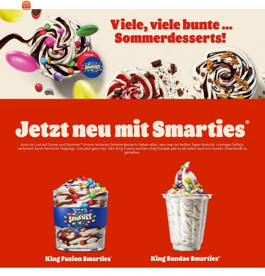 Sommerdesserts . Burger King (2021-05-31-2021-05-31)