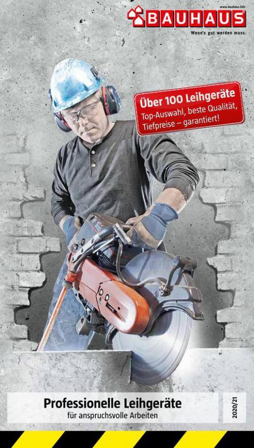 Leihgeräte . Bauhaus (2021-12-31-2021-12-31)