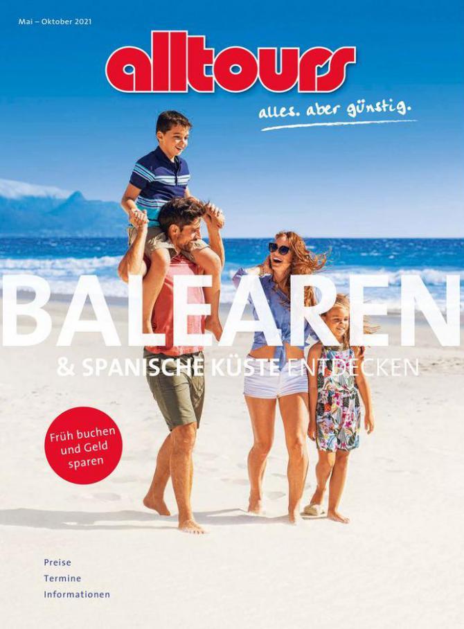 Balearen . alltours Reisecenter (2021-10-31-2021-10-31)