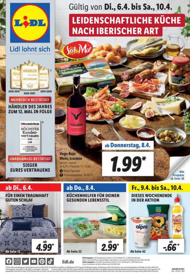 Lidl flugblatt . Lidl (2021-04-10-2021-04-10)