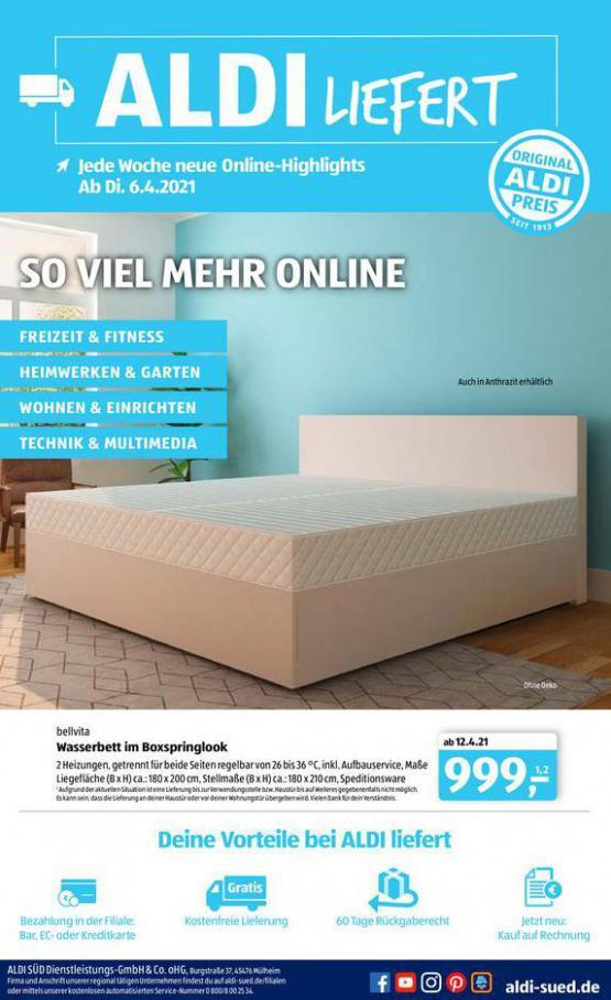 Aldi Süd flugblatt . Aldi Süd (2021-04-22-2021-04-22)