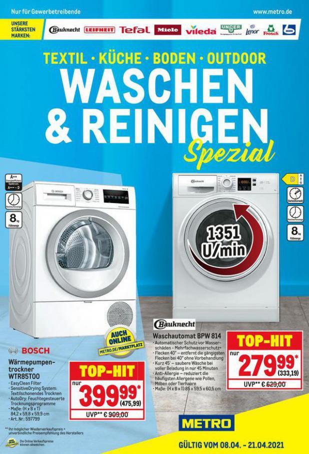 Waschen & Reinigen . Metro (2021-04-21-2021-04-21)