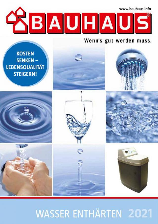 Wasser enthärten 2021 . Bauhaus (2021-12-31-2021-12-31)
