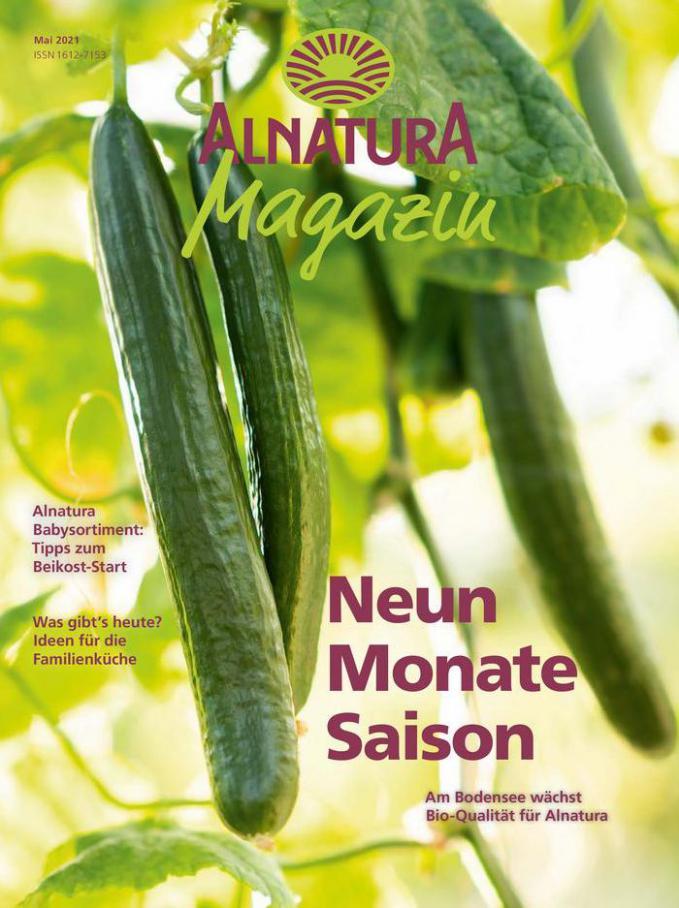 Alnatura Magazin Mai 2021 . Alnatura (2021-05-31-2021-05-31)