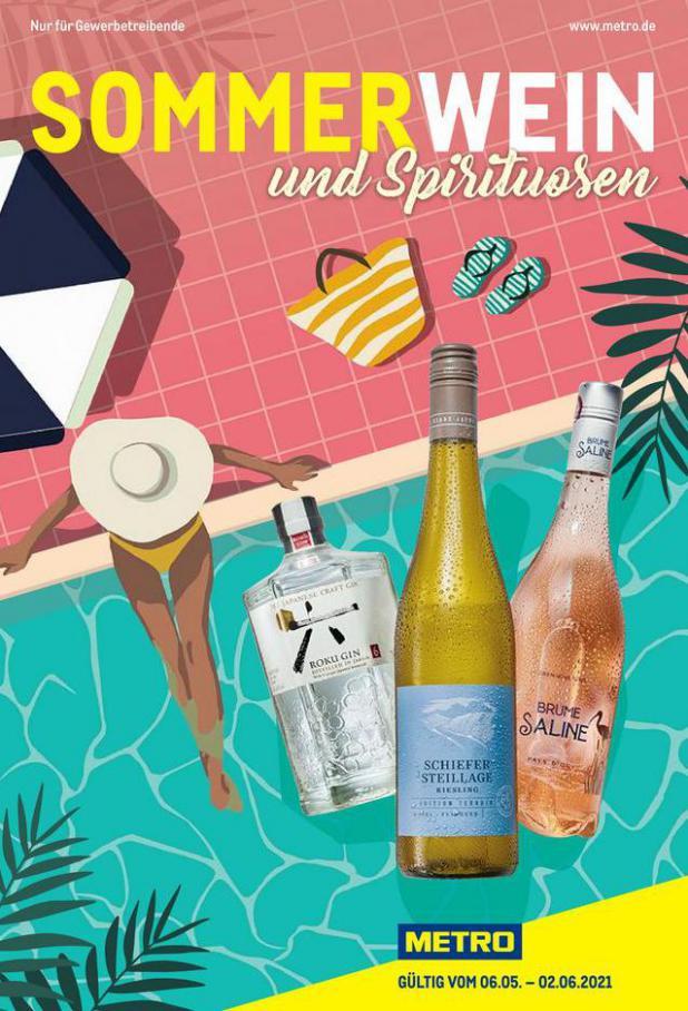 Sommerwein und Spirituosen . Metro (2021-06-02-2021-06-02)