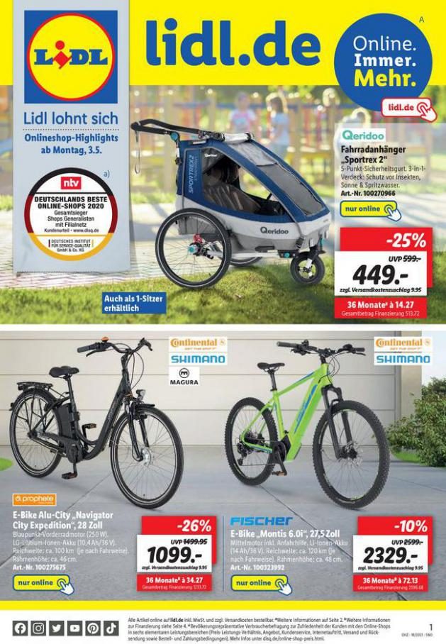 Lidl flugblatt . Lidl (2021-05-08-2021-05-08)