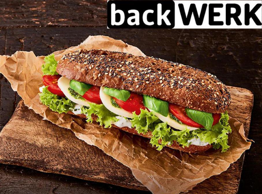 Menu Sandwiches . BackWerk (2021-06-20-2021-06-20)