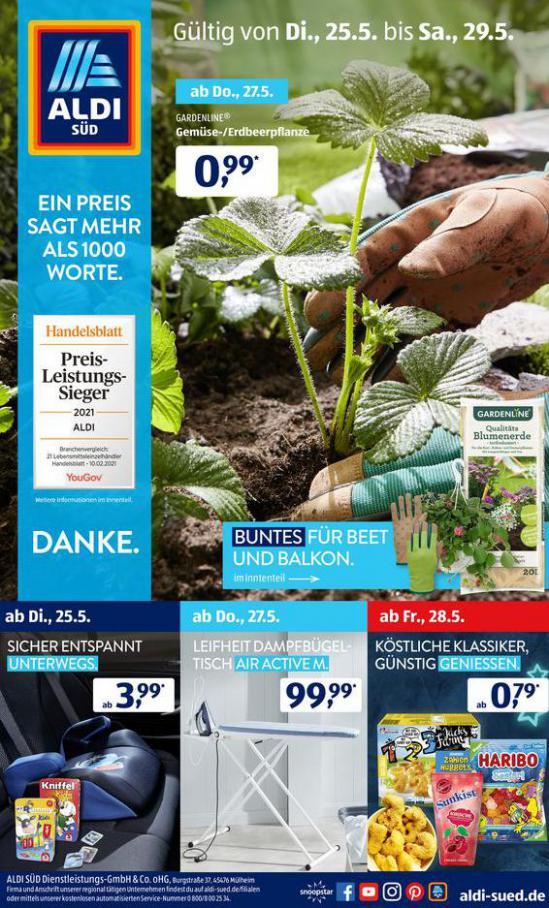 Aldi Süd flugblatt . Aldi Süd (2021-05-29-2021-05-29)