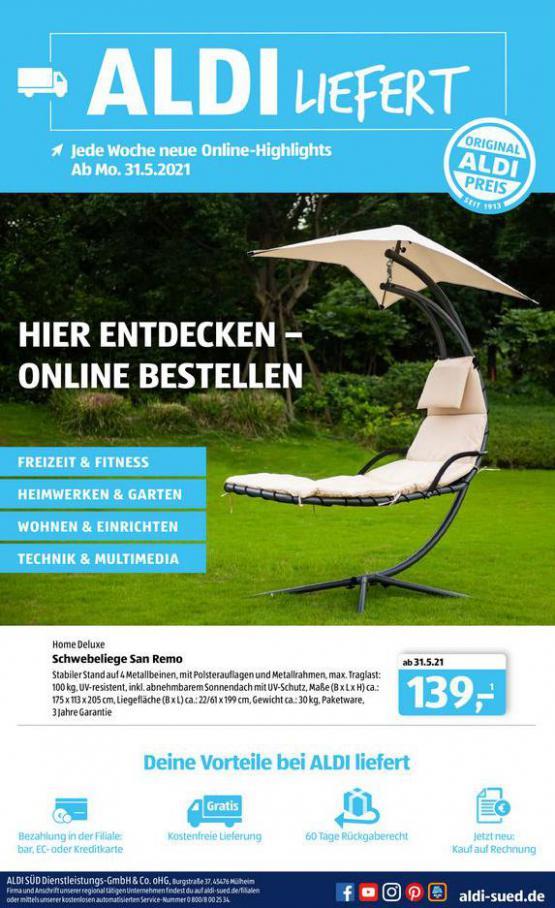 Aldi Süd flugblatt. Aldi Süd (2021-06-16-2021-06-16)