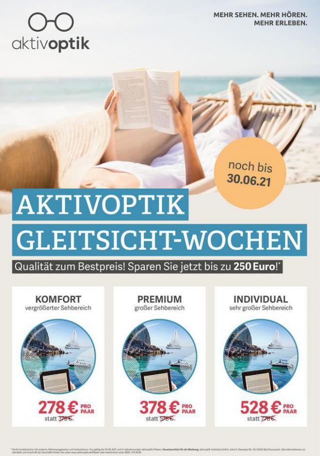 Aktuelle Angebote . Aktiv Optik (2021-06-30-2021-06-30)