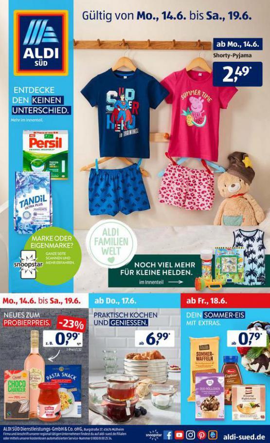 Aldi Süd flugblatt . Aldi Süd (2021-06-19-2021-06-19)