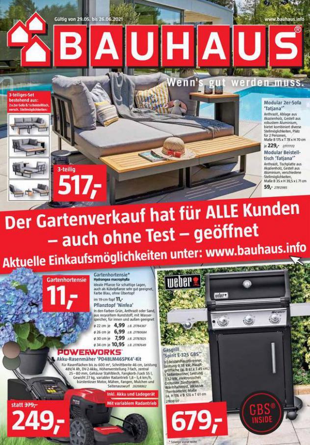 Bauhaus Prospekt. Bauhaus (2021-06-26-2021-06-26)