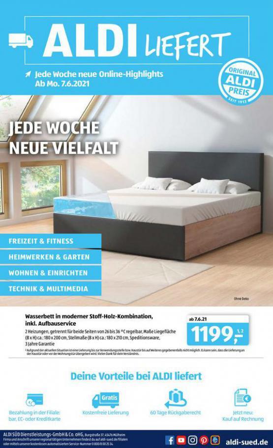 Aldi Süd flugblatt. Aldi Süd (2021-06-17-2021-06-17)