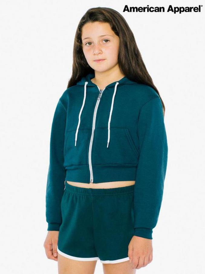 American Apparel Kids Lookbook. American Apparel (2021-08-12-2021-08-12)