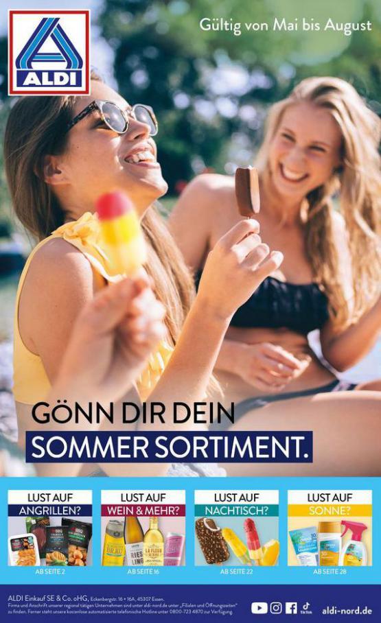 ALDI Sommer Sortiment. Aldi Nord (2021-08-31-2021-08-31)