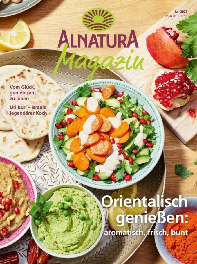 Juli Magazin. Alnatura (2021-07-31-2021-07-31)